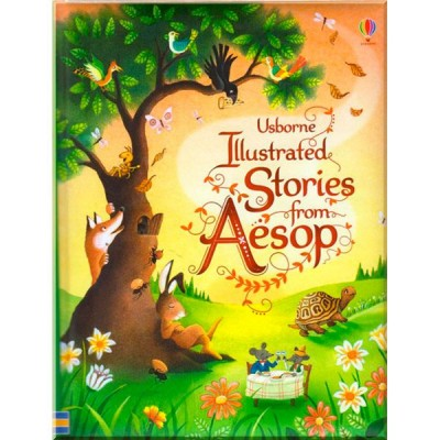 Детская книга Usborne Illustrated Stories from Aesop