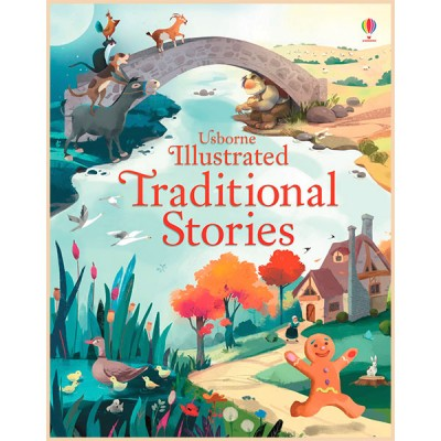 Детская книга Usborne Illustrated Traditional Stories