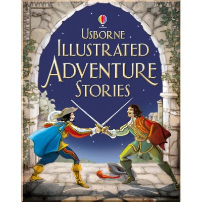 Детская книга Usborne Illustrated Adventure Stories