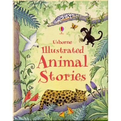 Детская книга Usborne Illustrated Animal Stories