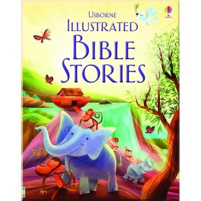 Детская книга Usborne Illustrated Bible Stories