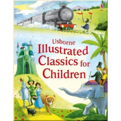 Детская книга Usborne Illustrated Classics for Children