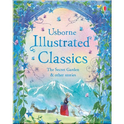 Детская книга Usborne Illustrated Classics. The Secret Garden and Other Stories