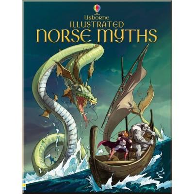 Детская книга Usborne Illustrated Norse Myths
