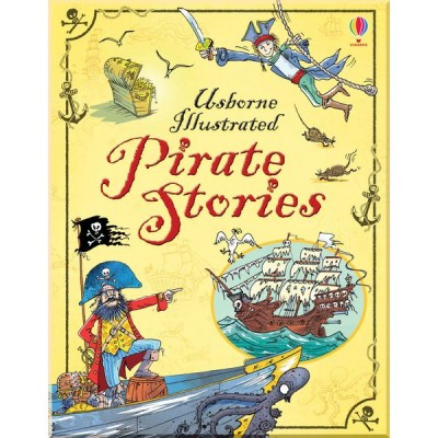 Детская книга Usborne Illustrated Pirate Stories
