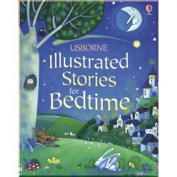 Детская книга Usborne Illustrated Stories for Bedtime