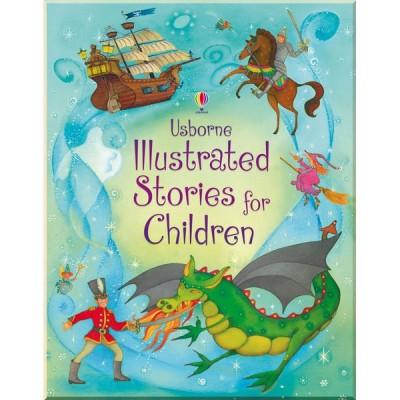 Детская книга Usborne Illustrated Stories for Children