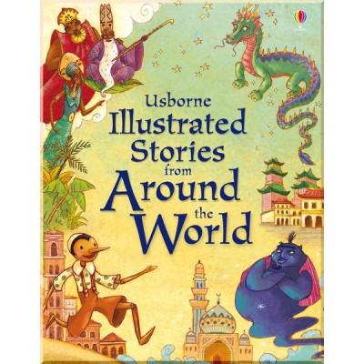 Детская книга Usborne Illustrated Stories from Around the World
