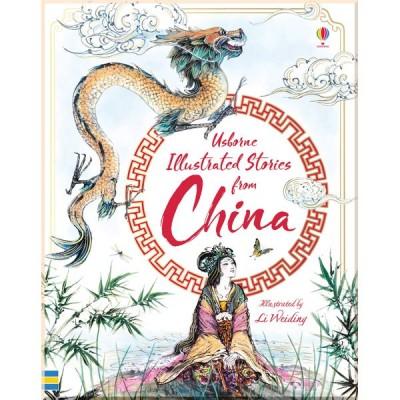 Детская книга Usborne Illustrated Stories from China