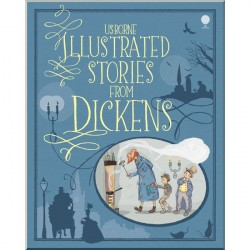 Детская книга Usborne Illustrated Stories from Dickens