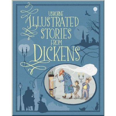 Детская книга Usborne Illustrated Stories from Dickens