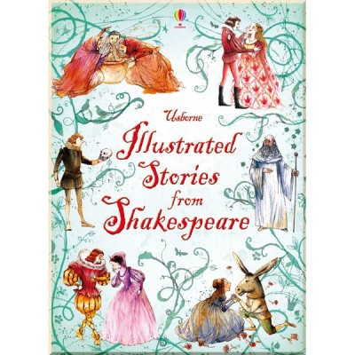 Детская книга Usborne Illustrated Stories from Shakespeare