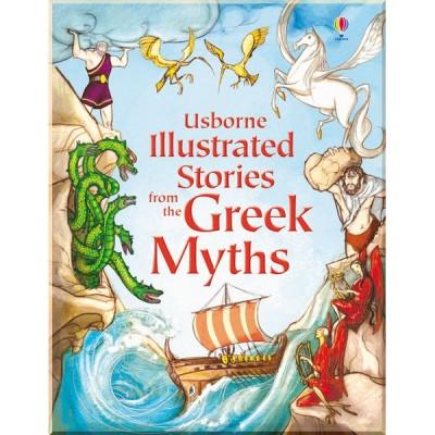 Детская книга Usborne Illustrated Stories from the Greek Myths