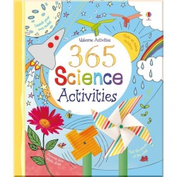 Детская книга Usborne 365 Science Activities