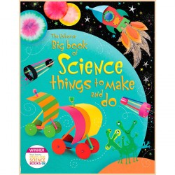 Детская книга Usborne Big Book of Science Things to Make and Do