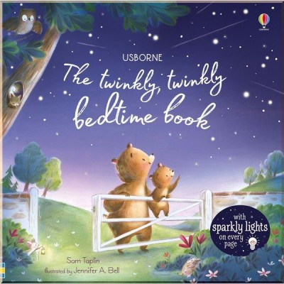 Детская книга со световыми эффектами Usborne The Twinkly Twinkly Bedtime Book