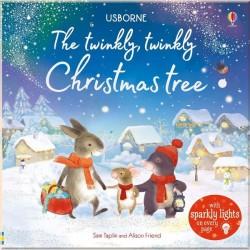 Детская книга со световыми эффектами Usborne The Twinkly Twinkly Christmas Tree