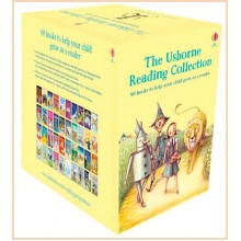 Usborne Young Reading Collection (40 illustrated Books Box Set)