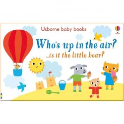 Детская книга Usborne Who's up in the Air? (Кто в воздухе?)