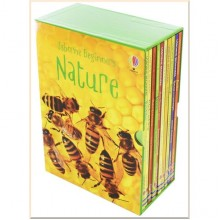 Usborne Beginners Nature 10 Books Box Set Collection