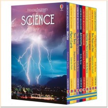 Usborne Beginners Science Series Collection 10 Books Box Set