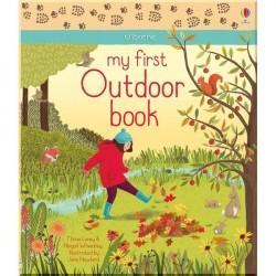 Детская книга Usborne My First Outdoor Book