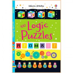 Детская книга Usborne 100 Logic Puzzles (Activity and Puzzle Books)