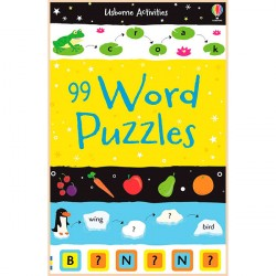Детская книга Usborne 99 Word Puzzles (Activity and Puzzle Books)