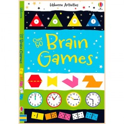 Детская книга Usborne Over 50 Brain Games (Activity and Puzzle Books)