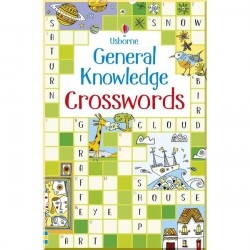 Детская книга Usborne General Knowledge Crosswords