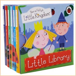 Детская коллекция книг Ladybird Ben and Holly's Little Kingdom: Little Library (Маленькое королевство Бена и Холли, 6 Books)