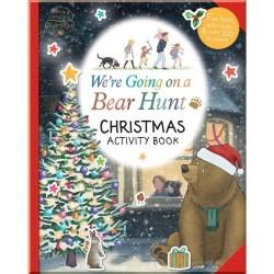 Детская книга со стикерами We're Going on a Bear Hunt: Christmas Activity Book