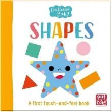 Детская книга с тактильными ощущениями Chatterbox Baby: Shapes