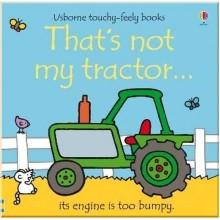 Детская книга с тактильными ощущениями That's Not My Tractor...