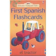 Детские карточки Usborne Farmyard Tales: First Spanish Flashcards
