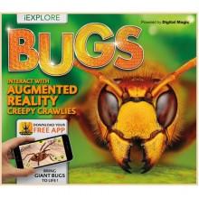 Детская книга iExplore - Bugs: Interact with Augmented Reality Creepy Crawlies