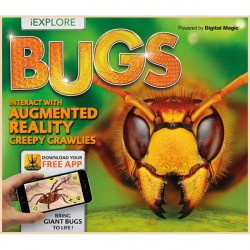 Детская книга iExplore - Bugs: Interact with Augmented Reality Creepy Crawlies