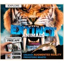 Детская книга iExplore - Extinct Animals: Unleash Augmented Reality Prehistoric Beasts!