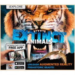 Детская книга iExplore - Extinct Animals: Unleash Augmented Reality Prehistoric Beasts!