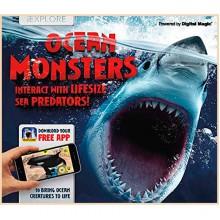 Детская книга iExplore - Ocean Monsters: Interact with Lifesize Sea Predators!
