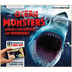 Детская книга iExplore - Ocean Monsters: Interact with Lifesize Sea Predators!