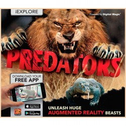 Детская книга iExplore - Predators: Unleash Huge Augmented Reality Beasts