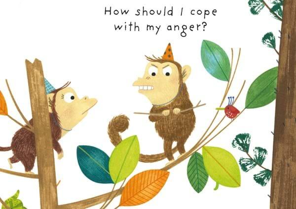 Иллюстрация из книги Usborne «What are Feelings?»
